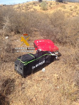 Foto Guardia Civil detención robos interior vehículos en la provincia