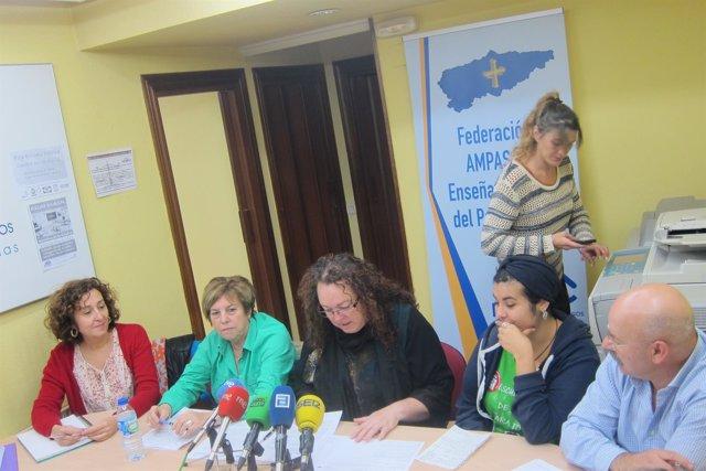 Presentación huelga del 26 octubre contra las reválidas.