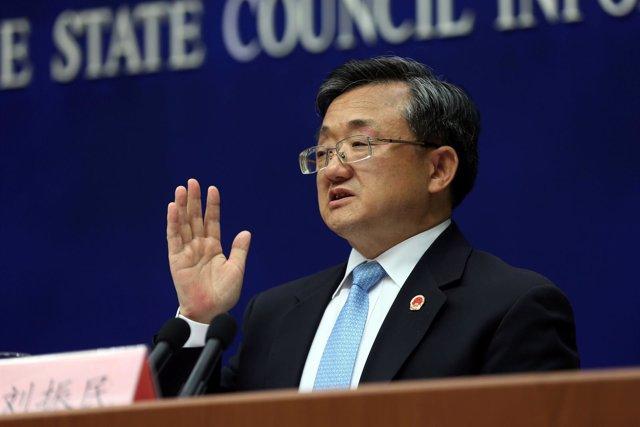 El viceministro de Asuntos Exteriores de China,  Liu Zhenmin.