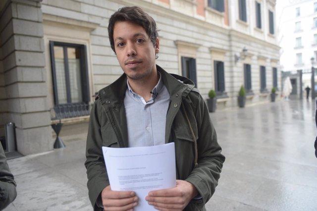 El diputado de Podemos por Asturias Segundo González