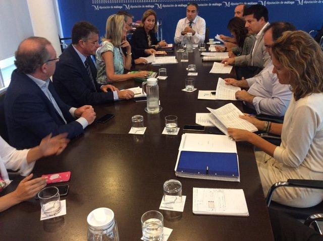 Junta de gobierno de la diputación de Málaga PIFS bendodo
