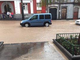 Las lluvias se trasladarán  al sur y a Canarias, donde serán muy fuertes