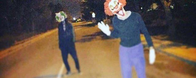 Los 'payasos diabólicos' llegan a Paterna