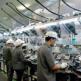 Trabajadores fabrica fujitsu malaga