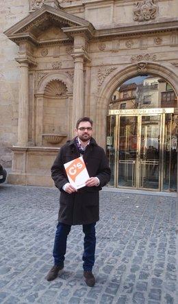 Diego Ubis, candidato de Ciudadanos al Gobierno de La Rioja