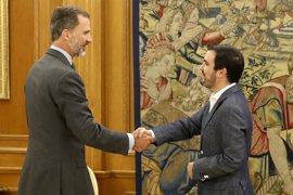 Garzón avisa al Rey de protestas contra el Gobierno Rajoy y su guardia pretoriana del PSOE
