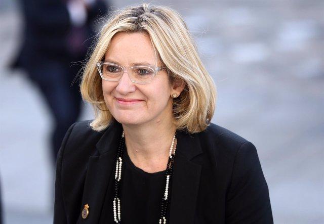 La ministra de Interior británica Amber Rudd