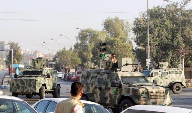 Ataque de Estado Islámico en Kirkuk (Irak)