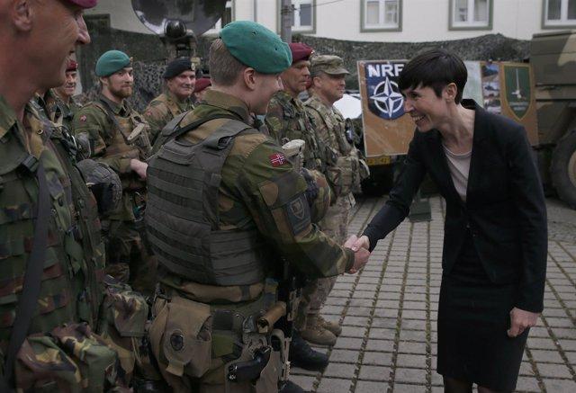 La ministra de Defensa noruega, Ine Eriksen Soereide