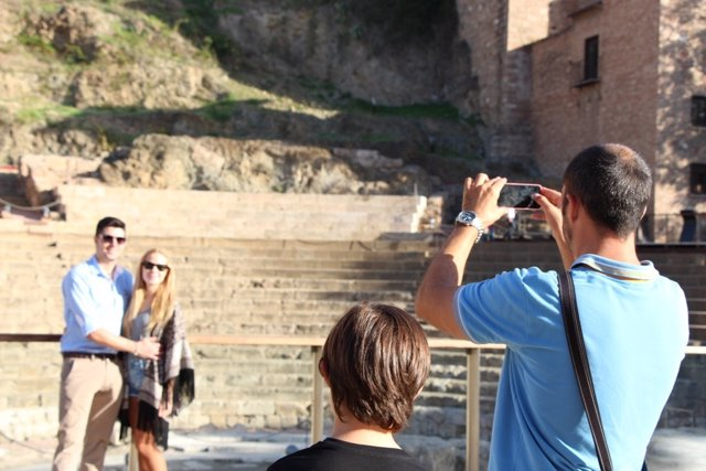 Turismo, turista, smartphone, foto, movil, tecnología