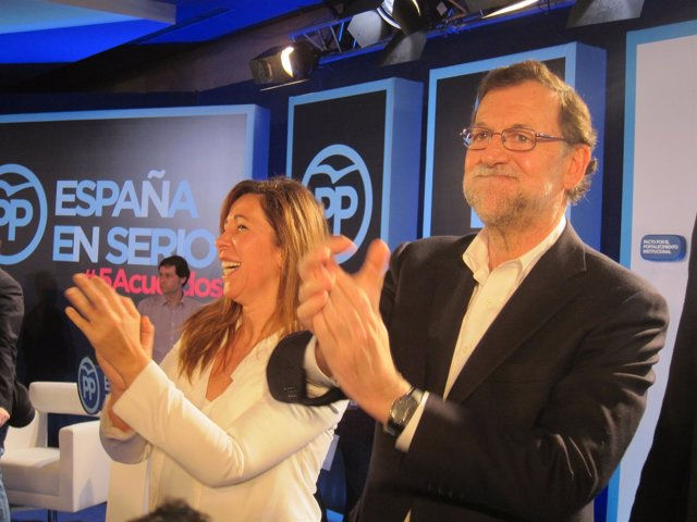 Alícia Sánchez-Camacho, Mariano Rajoy (PP)
