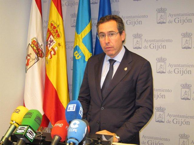 El Portavoz Del Gobierno Local Del Ayuntamiento De Gijón, Fernando Couto (Foro)