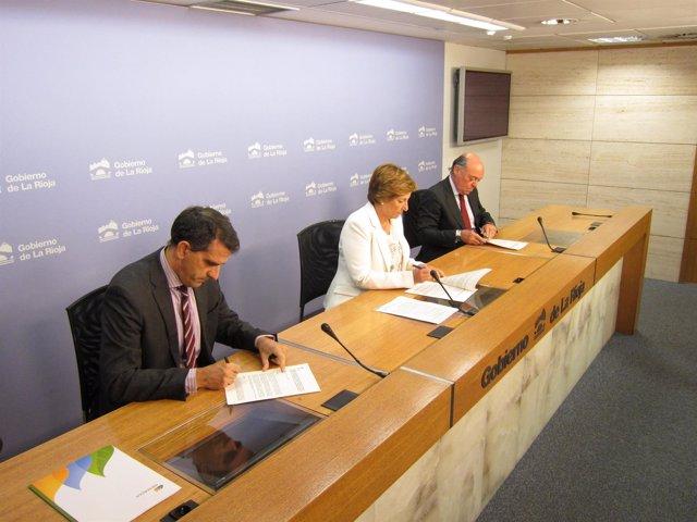 Convenio Gobierno, FER e Iberdrola