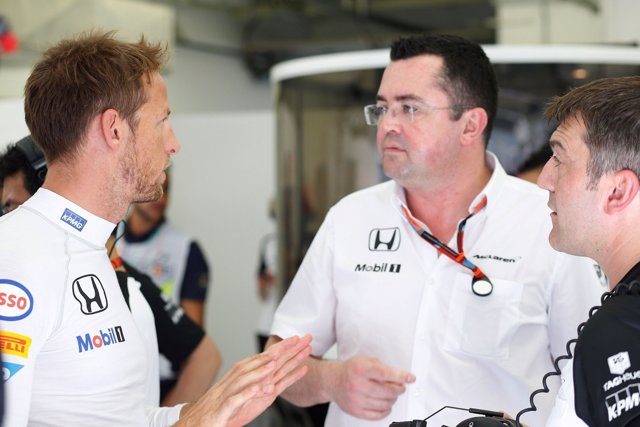 Éric Boullier, Jenson Button