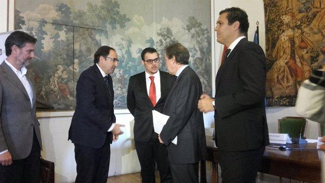De Santiago-Juárez en la reunión de la Comisión Ejecutiva de la FRMP