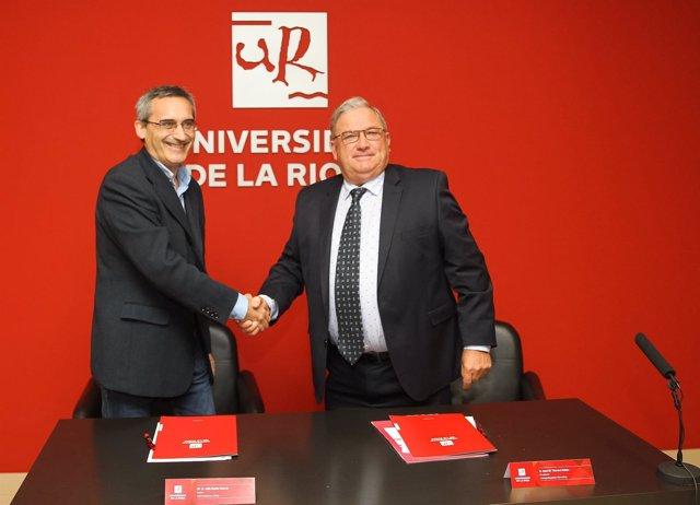 Convenio UR y Consejo Regulador de la DOC Rioja