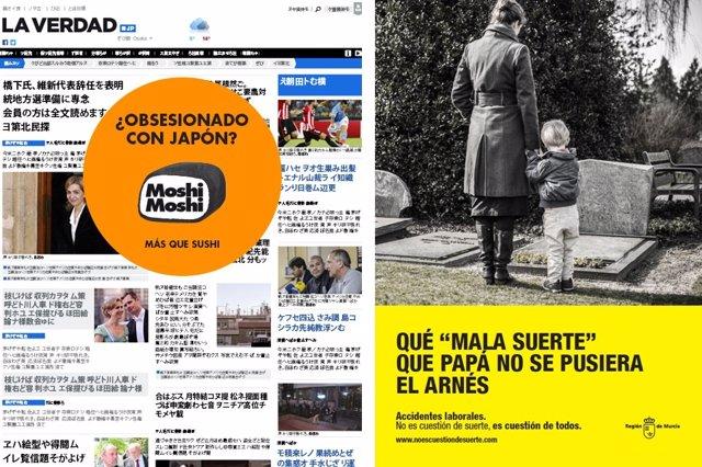 Imagen de la campaña de Portavoz