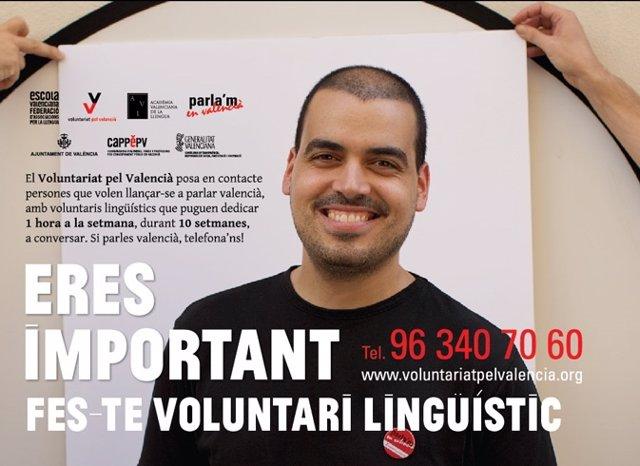 XI campaña de Voluntariat pel Valencià