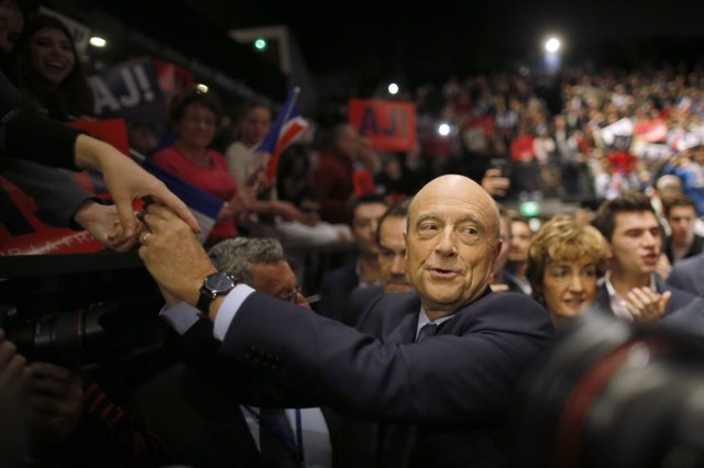 El ex primer ministro francés Alain Juppé
