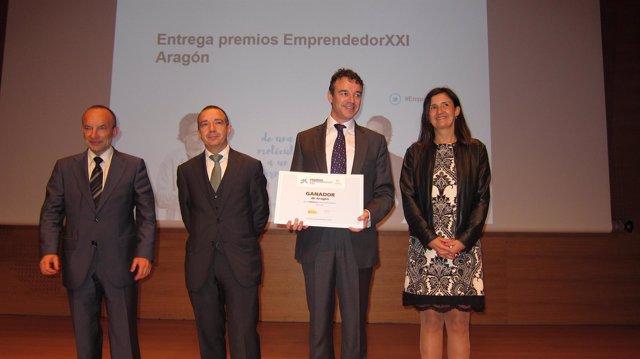 La empresa BioCurve gana los Premios Emprendedor XXI en Aragón