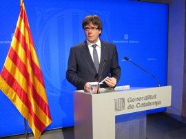 """Puigdemont apoya a Forcadell porque """"garantiza el respeto"""" de la voluntad ciudadana"""