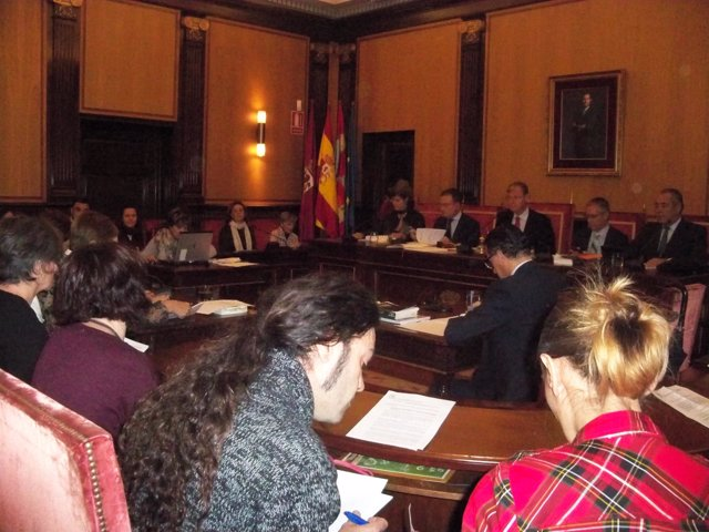 Pleno del Ayuntamiento de León