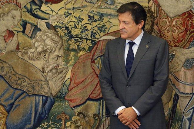 Javier Fernández en la Zarzuela