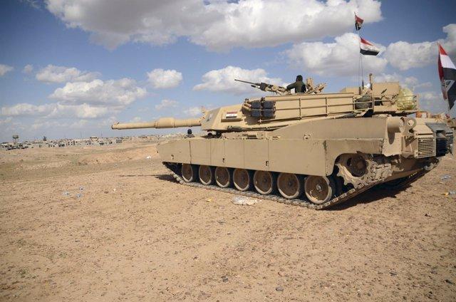Tanque del Ejército iraquí
