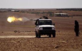 Los rebeldes sirios consiguen tomar el control de tres localidades en el norte de Siria gracias al apoyo turco