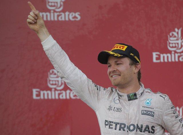 Nico Rosberg Gran Premio Europa Bakú