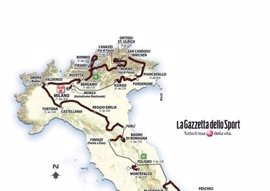 La edición centenaria del Giro acabará con una crono en Milán