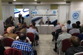 Mercedes Fernández insiste en que eliminar el impuesto de sucesiones es condición para pactar el presupuesto regional