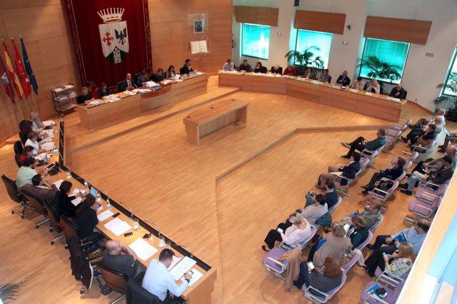 Salón de plenos de Alcobendas (Madrid)