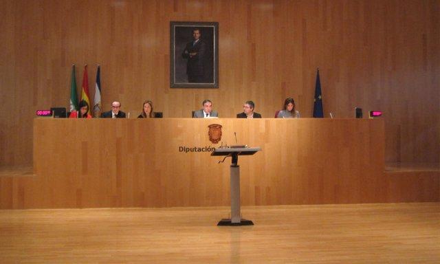 Elías Bendodo pleno Diputación diciembre 2015