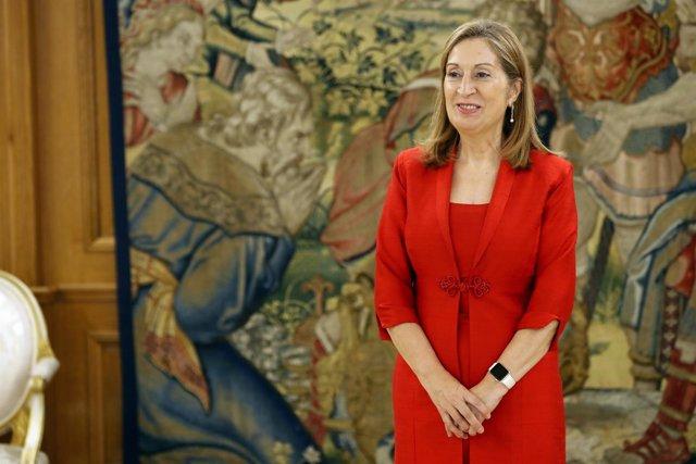 El Rey recibe a Ana Pastor en Zarzuela