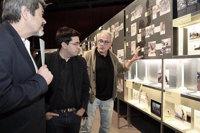 Carles Puigdemont, visita el salón del IoT Solutions World Congress