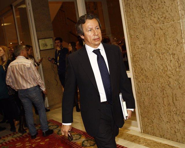 Carlos Floriano en el Congreso