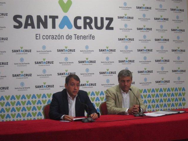 Bermúdez y Garcinuño, en rueda de prensa