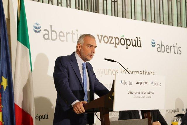 Embajador de Italia en España, Stefano Sannino