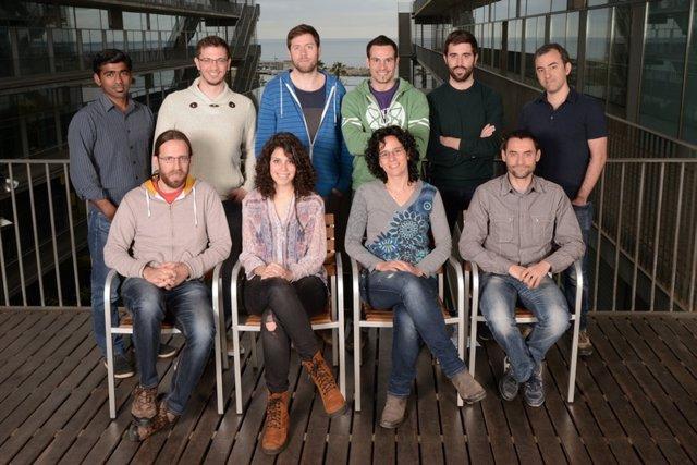 Investigadores del Grupo de Genómica Biomédica de la UPF
