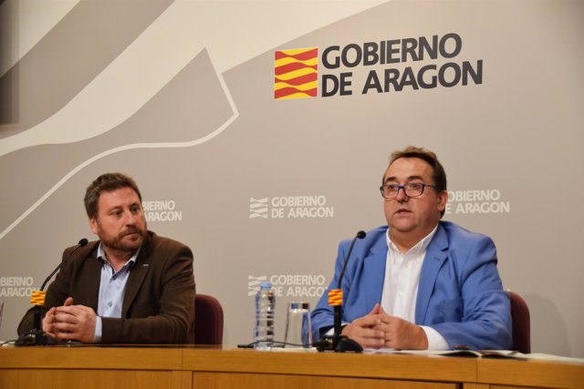 José Luis Soro y José Luis Yzuel, en rueda de prensa.
