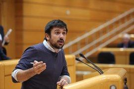 """Espinar apoya la protesta contra la investidura de Rajoy por ser """"perfectamente legítima"""""""