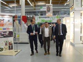 Leroy Merlín amplía su tienda de Valladolid con un nuevo espacio de materiales y crea 3 nuevos empleos