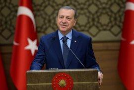 Erdogan asegura que Turquía no tiene ninguna intención de avanzar hacia Alepo