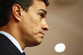 Pedro Sánchez, ausente en la reunión del Grupo Socialista antes de la investidura