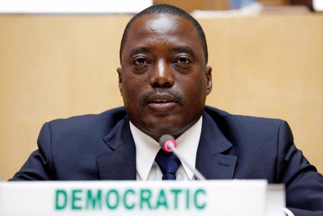 El presidente de República Democrática del Congo, Joseph Kabila