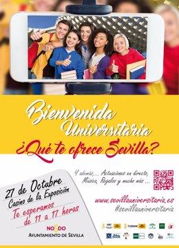Bienvenida universitaria en Sevilla