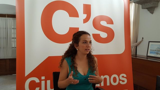 La parlamentaria andaluza de Ciudadanos Marta Escrivá