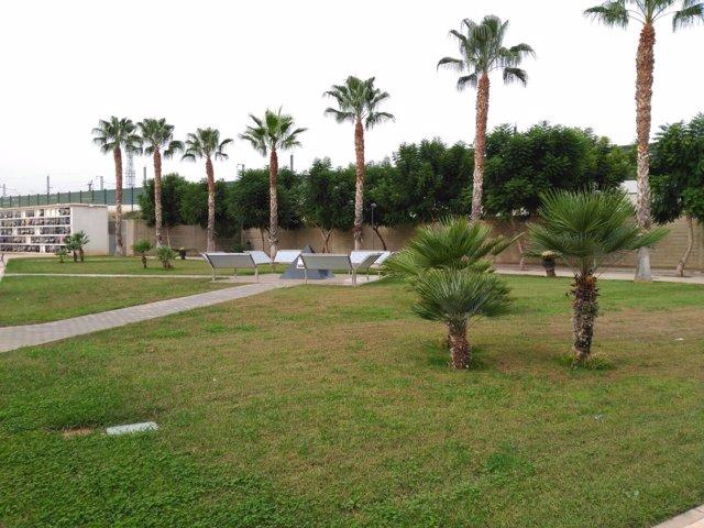 Depósito de cenizas del Cementerio de Valencia