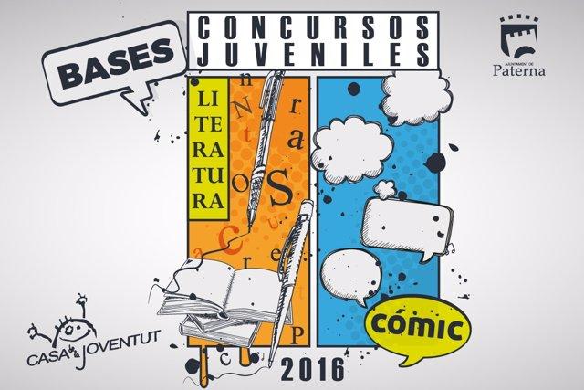 El Ayuntamiento de Paterna convoca concursos juveniles de literatura y cómic